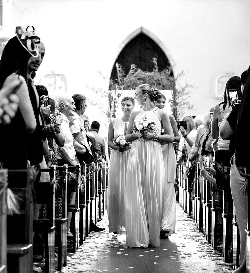 Photographe mariage haut de gamme reportage photos cérémonie religieuse église lyon
