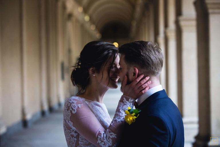 reportage mariage photographe Amédézal Lyon Baiser couple