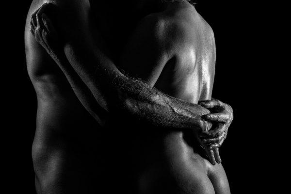 Séance photo en couple par Temps Anonymes Amédézal, expérience bien être lyon